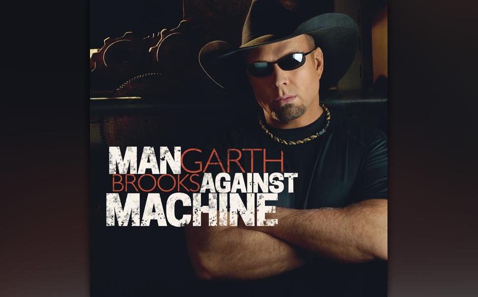 Garth Brooks: 'Man against Machine'. Haarsträubender Kitsch und Hybris vom Country-Ruheständler.