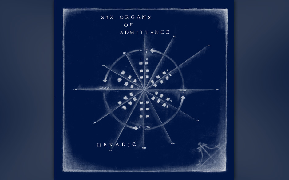 Six Organs Of Admittance: 'Hexadic'. Leider ungenießbares mathematisches Gitarren-Gegniedel.