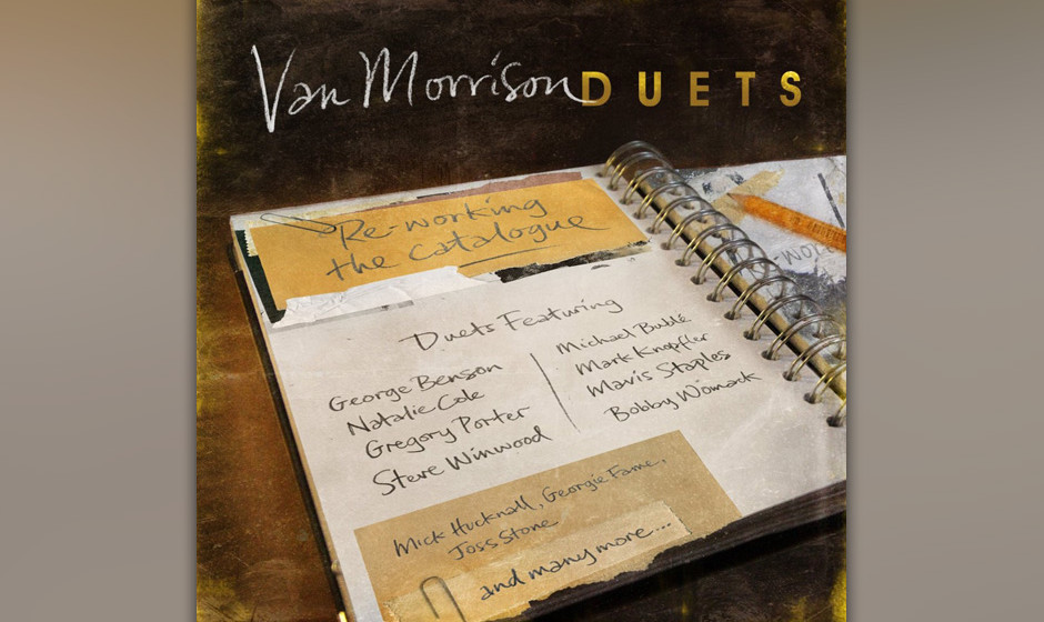 Van Morrison: 'Duets: Reworking The Catalogue'. Der routinierte Ton, der Sahnehäubchen-soul, Nachmittagsteestuben-Jazz.