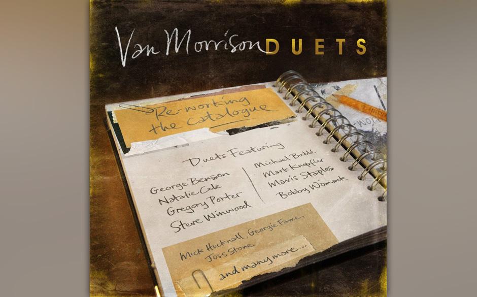 Van Morrison: 'Duets: Reworking The Catalogue'. Der routinierte Ton, der Sahnehäubchen-soul, Nachmittagsteestuben-Jazz.