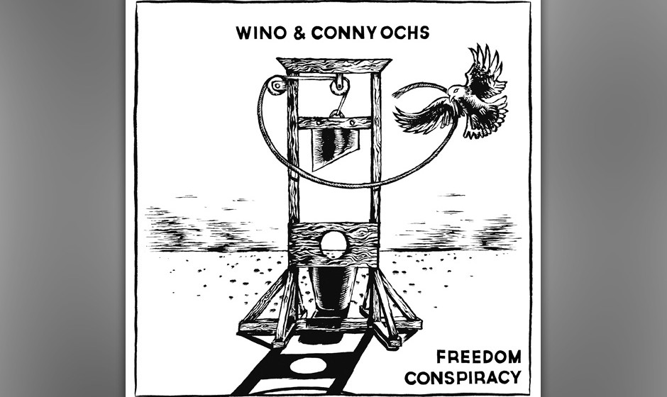 Wino & Conny Ochs: 'Freedom Conspiracy'. Der Ton ist erdig und ernst. Es gilt schließlich die Freiheit zu retten