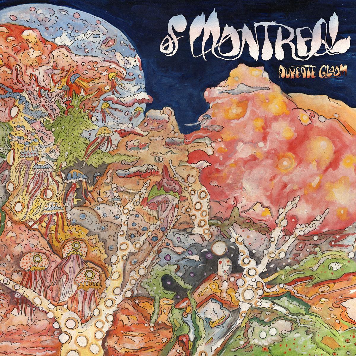 Of Montreal: 'Aureate Gloom'. Große Experimente, viele Stile, doch zu wenige verbindende Ideen.