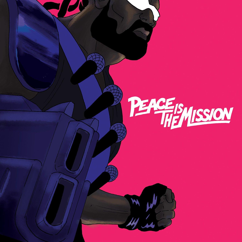 Major Lazer: 'Peace Is The Mission'. Billige bis hochglänzende Elektro-Sounds für den Weltfrieden.