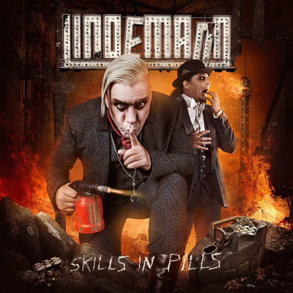 Lindemann: 'Skills In Pills'. Wie gehabt: Der Rammstein-Sänger wird in eine klobige eiserne Industrial-Rüstung gestanzt und