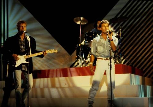 A-ha in Concert - 80er Jahre