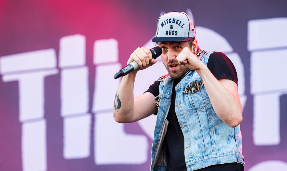 Antilopen Gang live bei Rock am Ring 2015