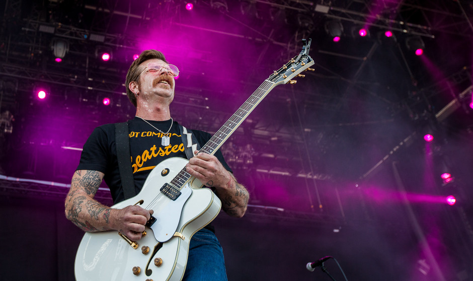 Jesse Hughes - Sänger der Eagles of Death Metal.