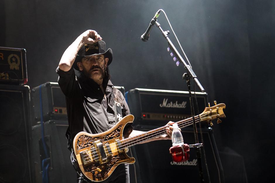 Motörhead-Konzert auf dem Rock am Ring.