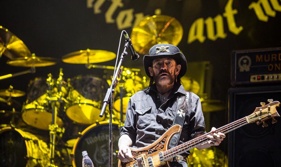 Motörhead bei Rock am Ring 2015.
