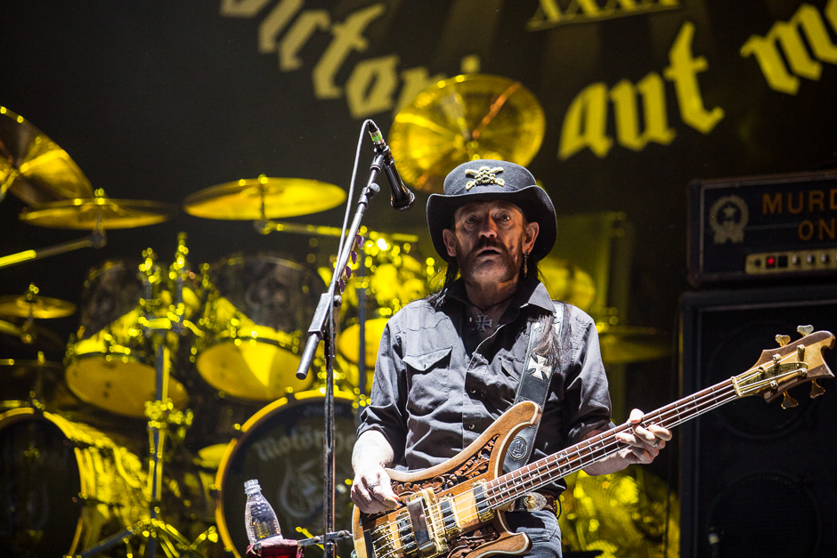 Motörhead bei Rock am Ring 2015.