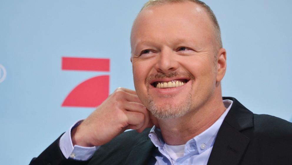 Stefan Raab im Studio zum Das TV Duell, Kanzlerduell in Adlershof, Berlin, 30. August 2013