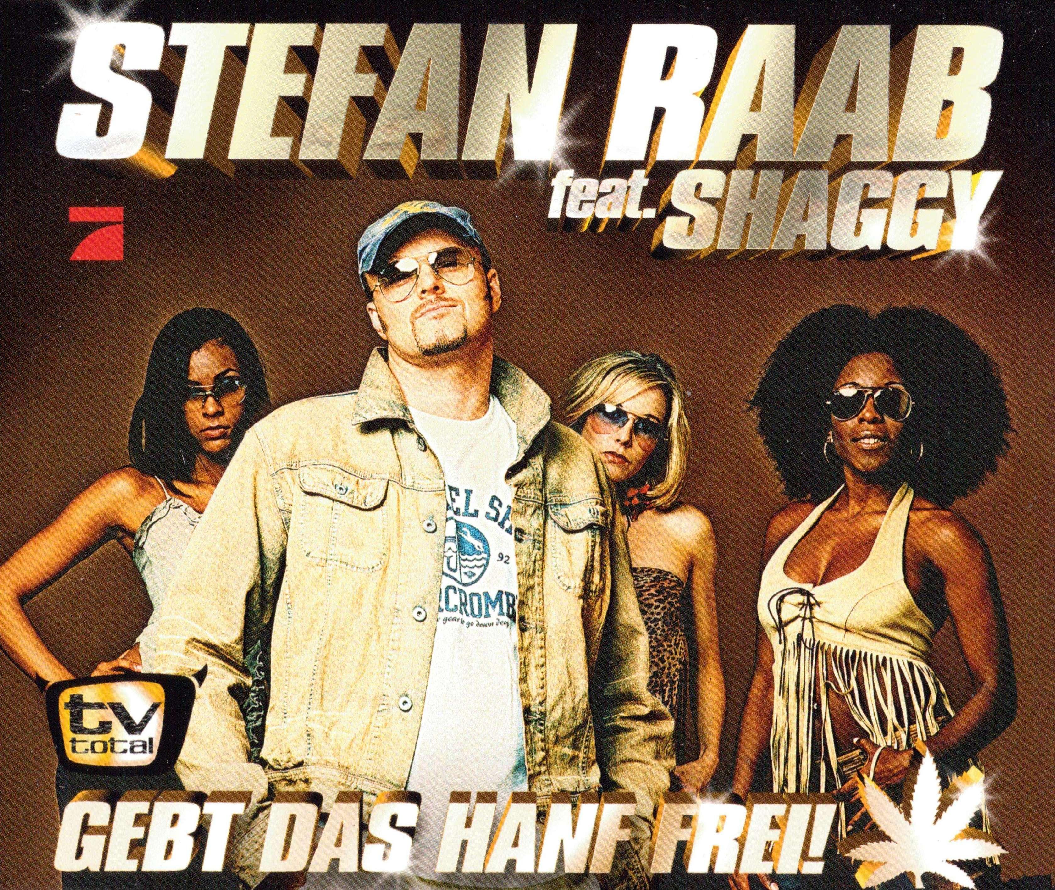 Grünen-Politiker Hans-Christian Ströbele forderte 'Gebt das Hanf frei!', Raab und Rap-Kollege Shaggy bastelten aus dem verz