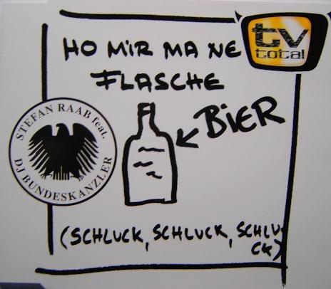 Bundeskanzler Schröder inszenierte sich oft als Mann vom Volk, jede seiner öffentlichen Äußerungen sollte mit Basisvokabu