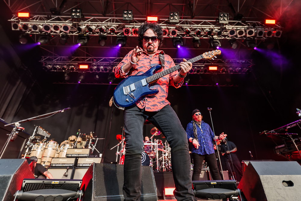 Toto live am 18.06.2015 auf der Burg Abenberg