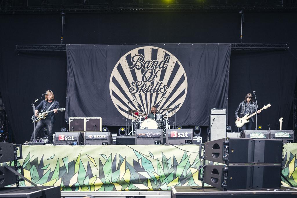 Band Of Skulls beim Hurricane Festival 2015