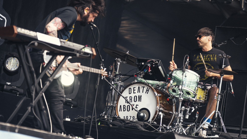 Death From Above 1979 beim Hurricane 2015