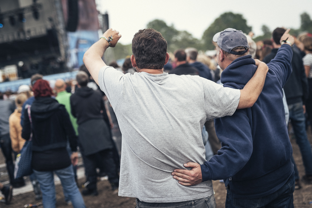 Noel Gallagher's High Flying Birds beim Hurricane Festival 2015