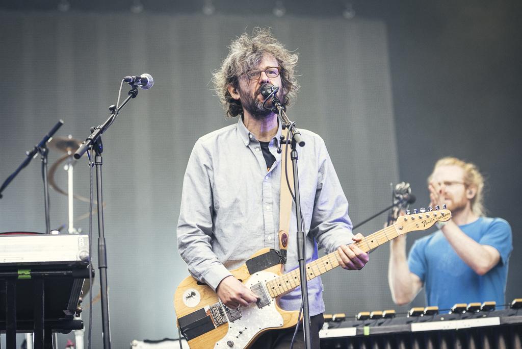 The Notwist beim Hurricane Festival 2015
