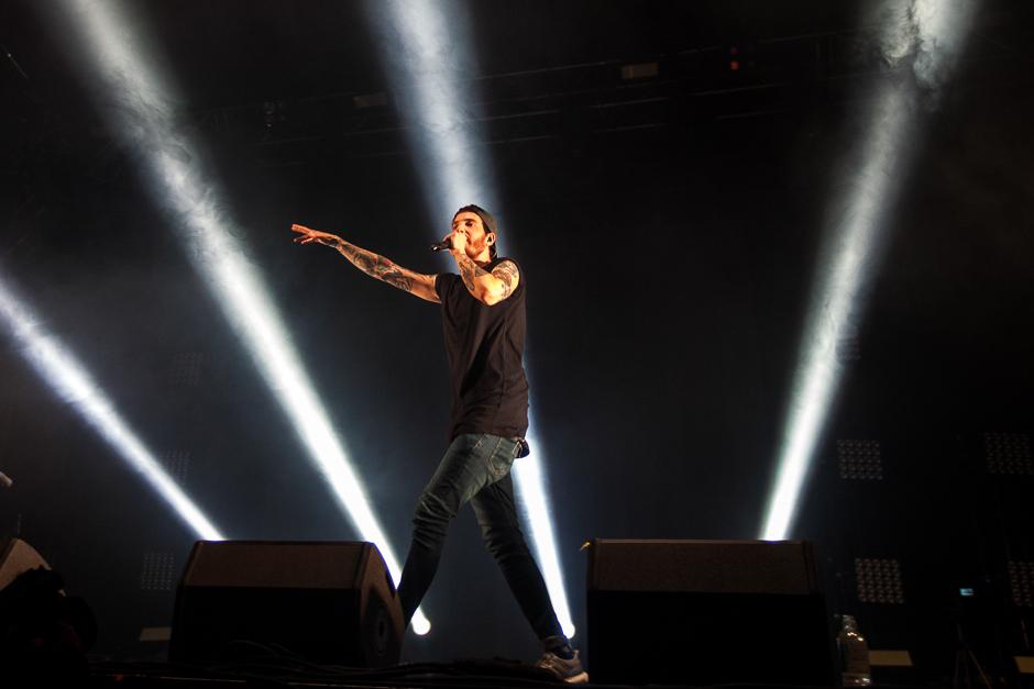 Casper beim Southside Festival 2015