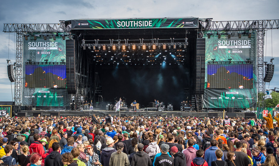 Death Cab For Cutie beim Southside 2015