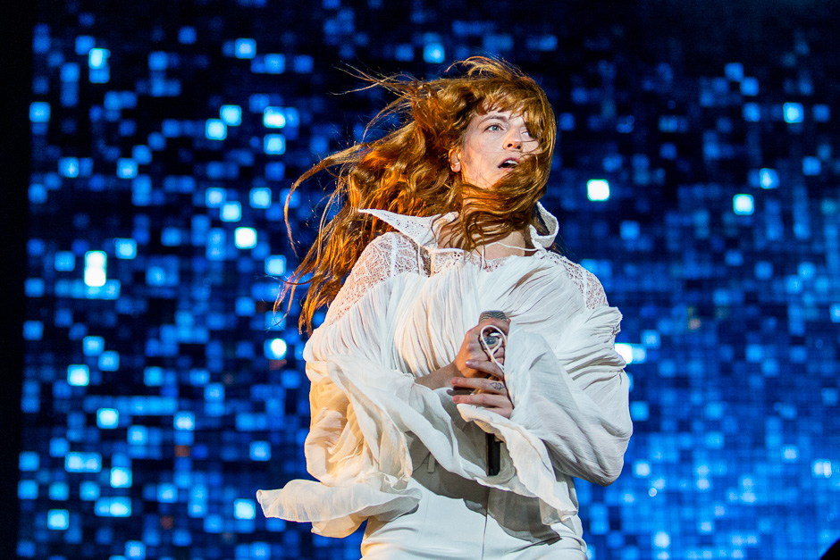 Einer der Headliner beim Apple Festival 2015: Florence + The Machine