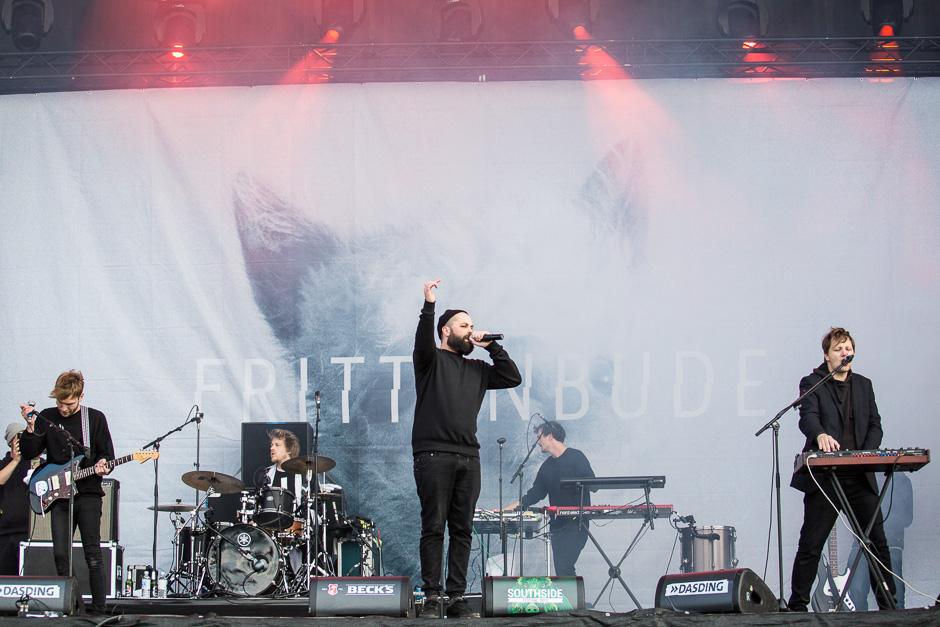 Frittenbude beim Southside Festival 2015