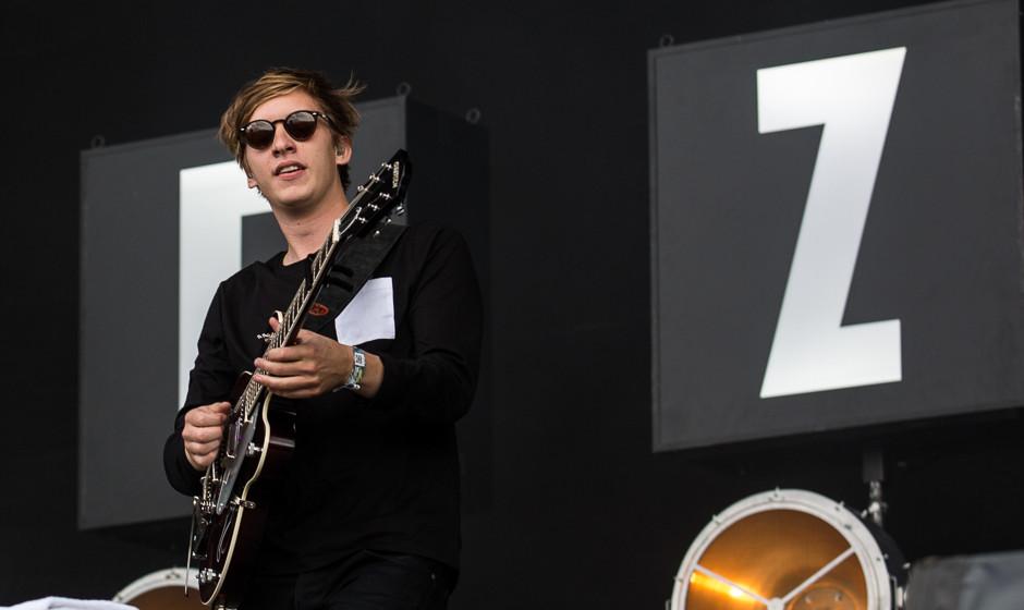 George Ezra beim Southside Festival 2015