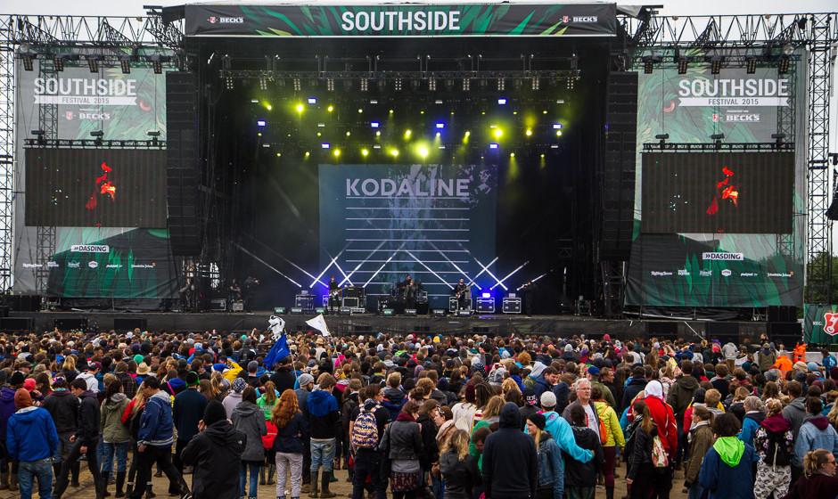 Kodaline beim Southside Festival 2015