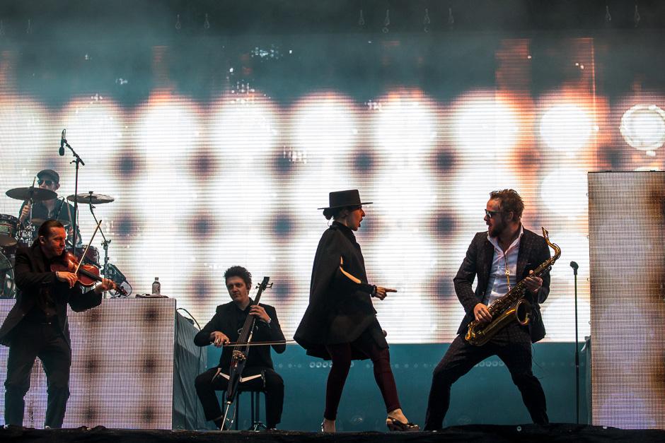 Parov Stelar beim Southside Festival 2015