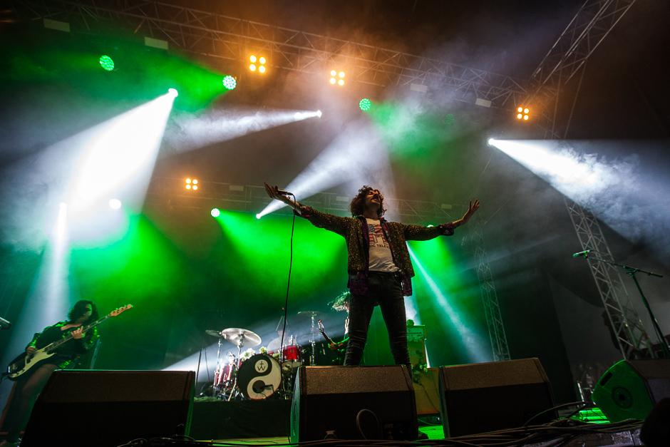 Powerwolf beim Southside Festival 2015