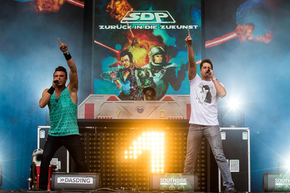 S.D.P. beim Southside Festival 2015