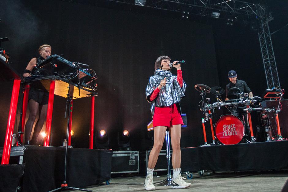 The Dø beim Southside Festival 2015