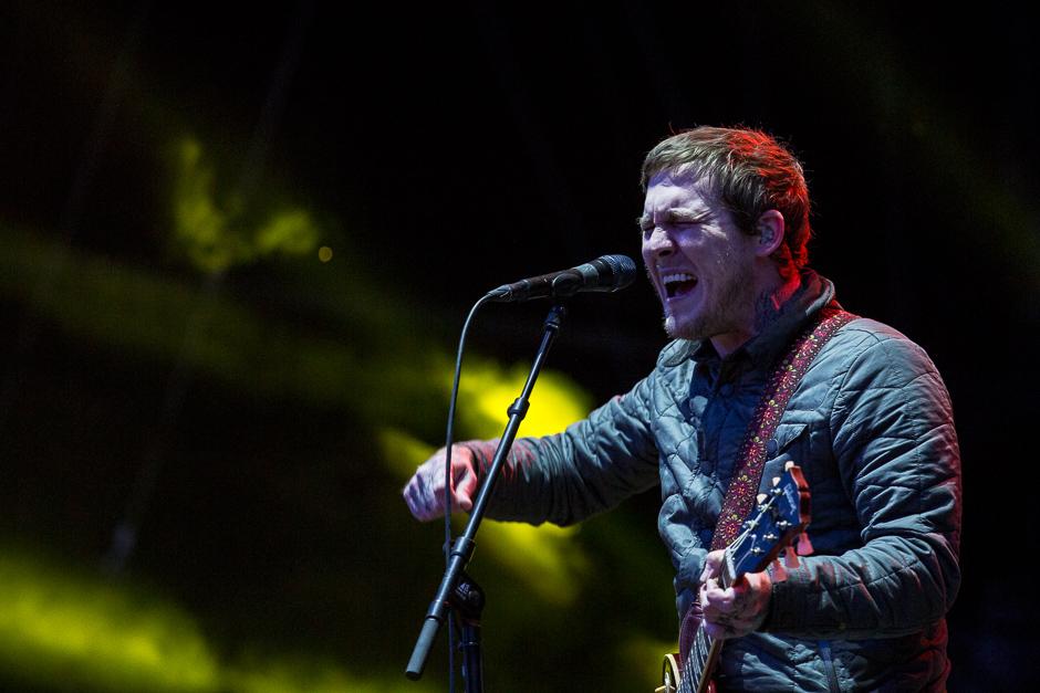 The Gaslight Anthem beim Southside Festival 2015