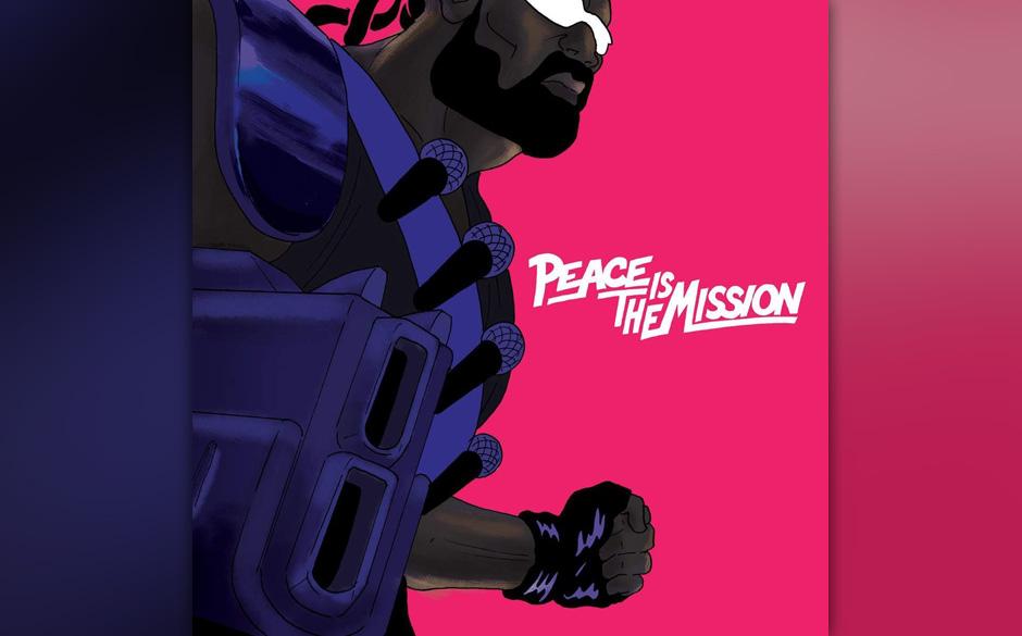 Major Lazor - 'Peace Is The Mission' (VÖ: 29.05.2015)