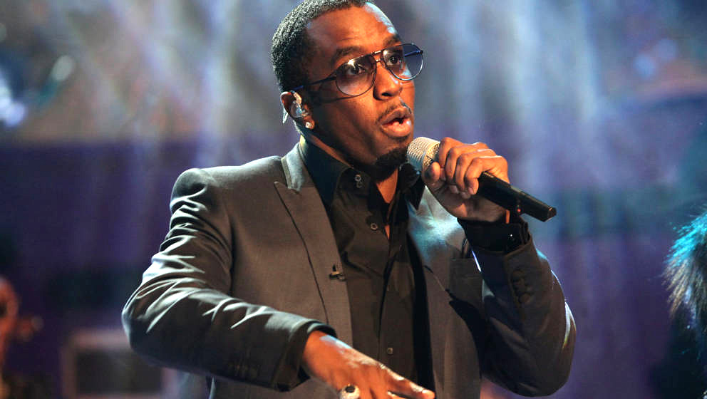 The Graham Norton Show - London.Diddy (also known as Sean Combs) of Diddy-Dirty Money performing during a recording of the Gr