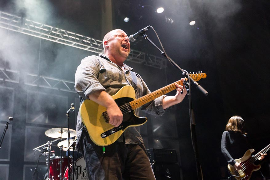 SAN FRANCISCO, CA - SEPTEMBER 30:  Black Francis of Pixies performs at The Masonic Auditorium on September 30, 2014 in San Fr