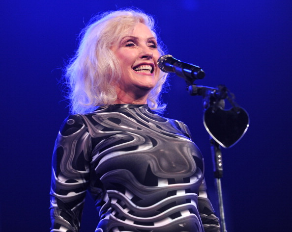 NEW YORK, NY - FEBRUARY 05:  Debbie Harry of Blondie performs onstage during the Amnesty International Concert presented by t