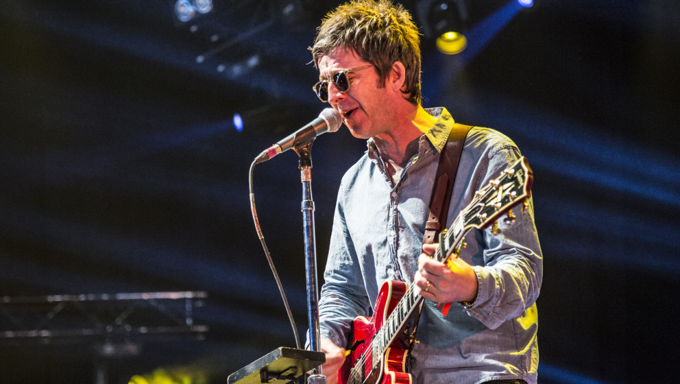 ROSKILDE, DENMARK - JULY 01:  Noel Gallagher performs at Roskilde Festival on July 1, 2015 in Roskilde, Denmark.  (Photo by R