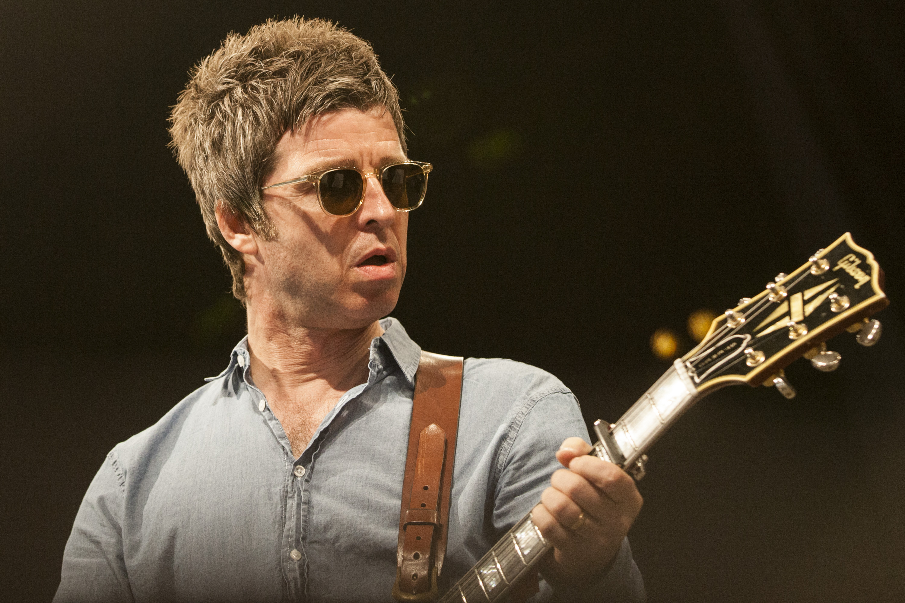 ROSKILDE, DENMARK - JULY 01:  Noel Gallagher performs at Roskilde Festival  on July 1, 2015 in Roskilde, Denmark.  (Photo by