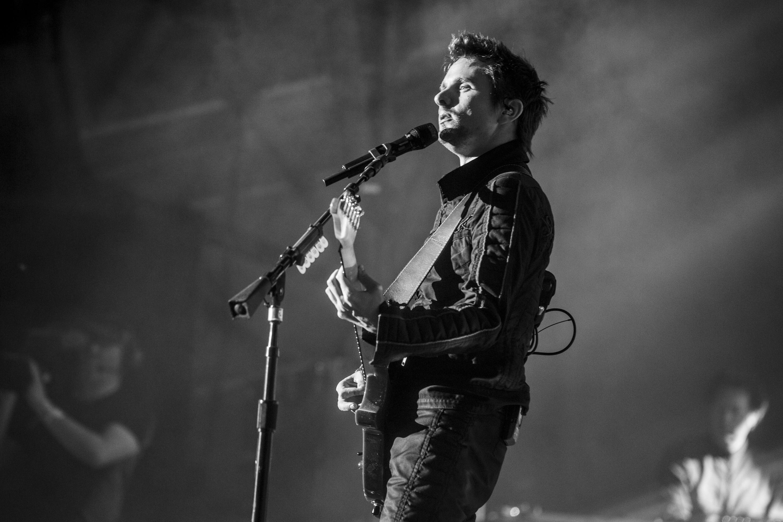 Muse live beim Roskilde Festival 2015