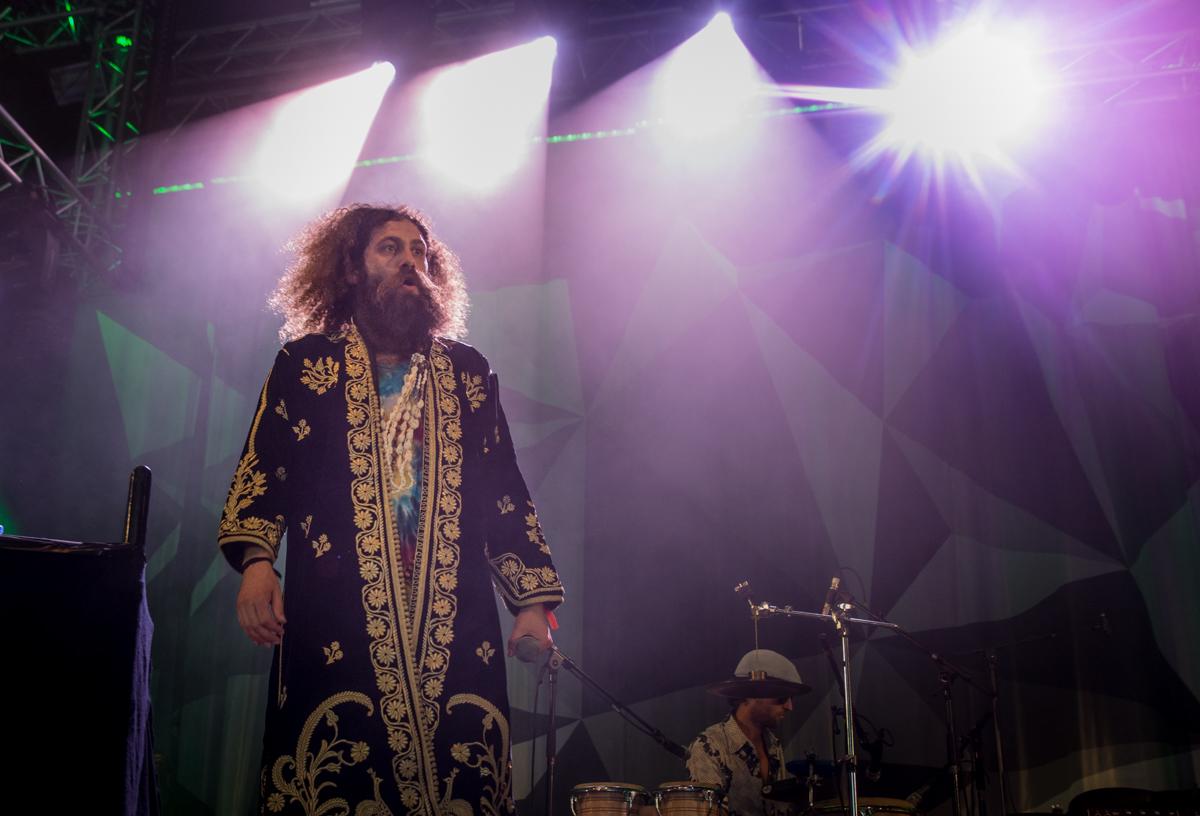 The Gaslamp Killer live beim Roskilde Festival 2015