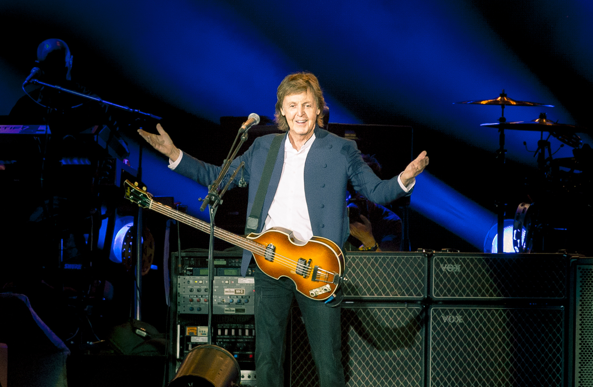 Paul McCartney live beim Roskilde Festival 2015