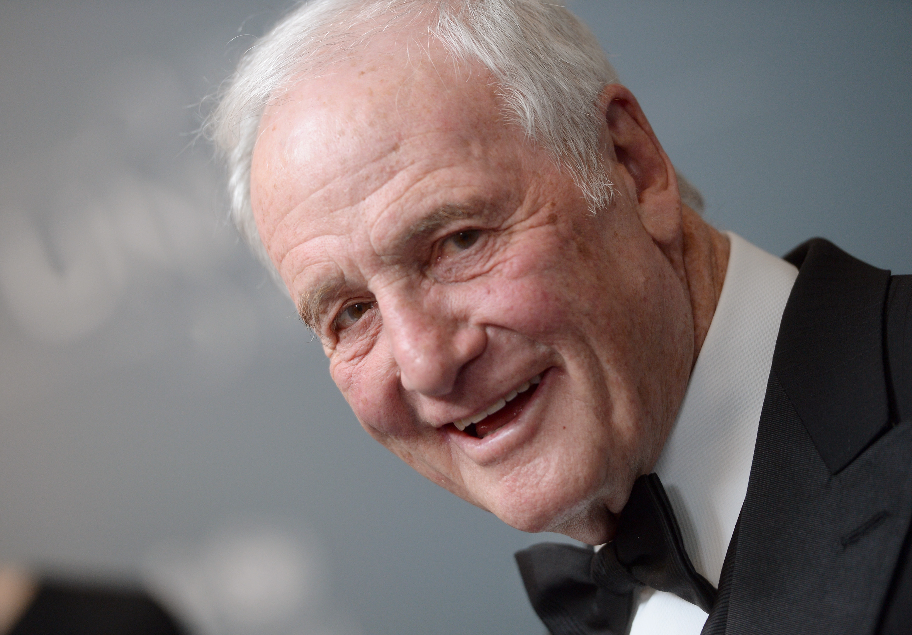 BEVERLY HILLS, CA - JANUARY 14:  Emcee and Danny Kaye Humanitarian Peace Award presenter Jerry Weintraub attends the 2014 UNI