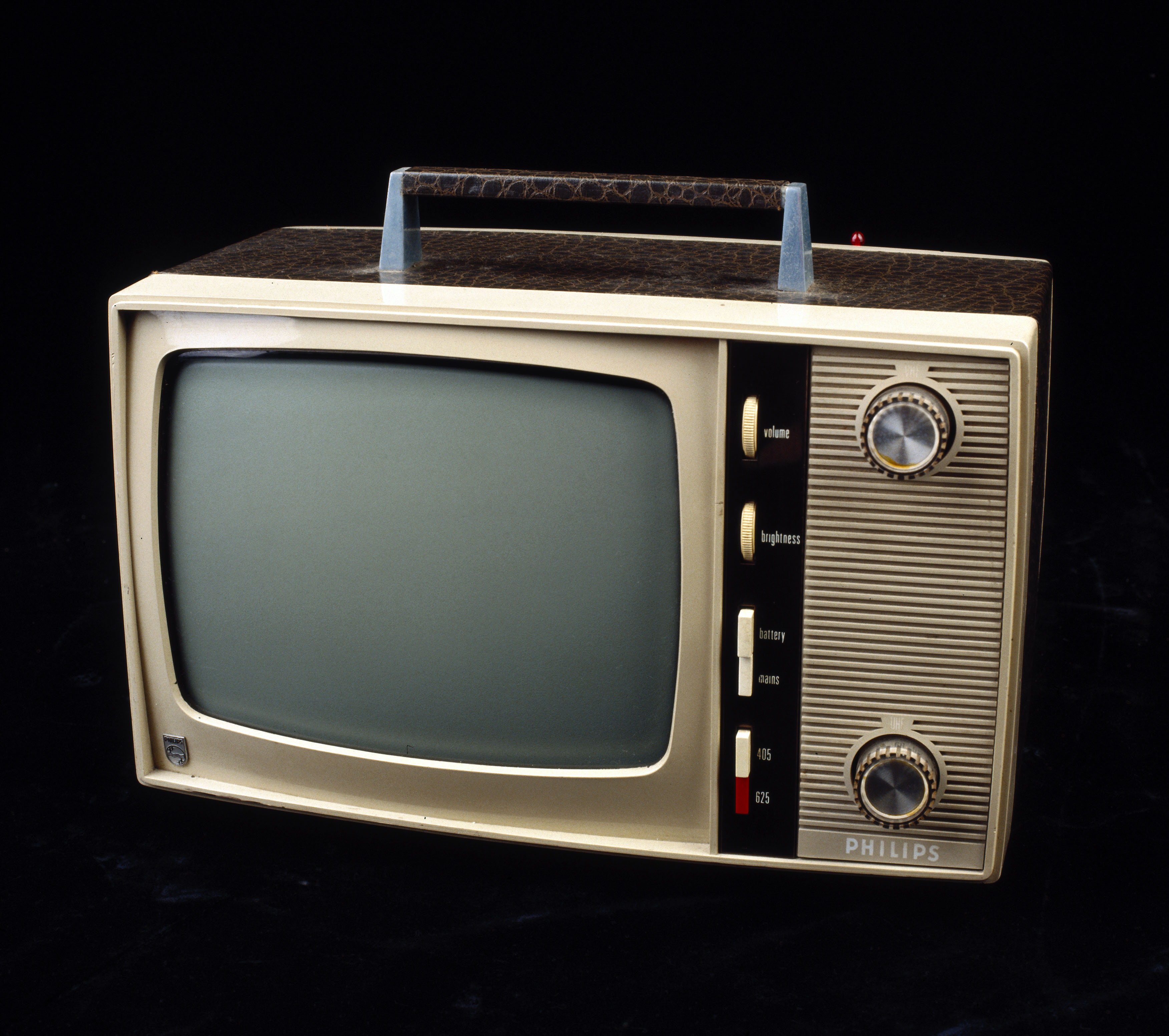 UNITED KINGDOM - AUGUST 04:  This dual standard 405/625 line television set with a 12 inch screen was one of the first truly