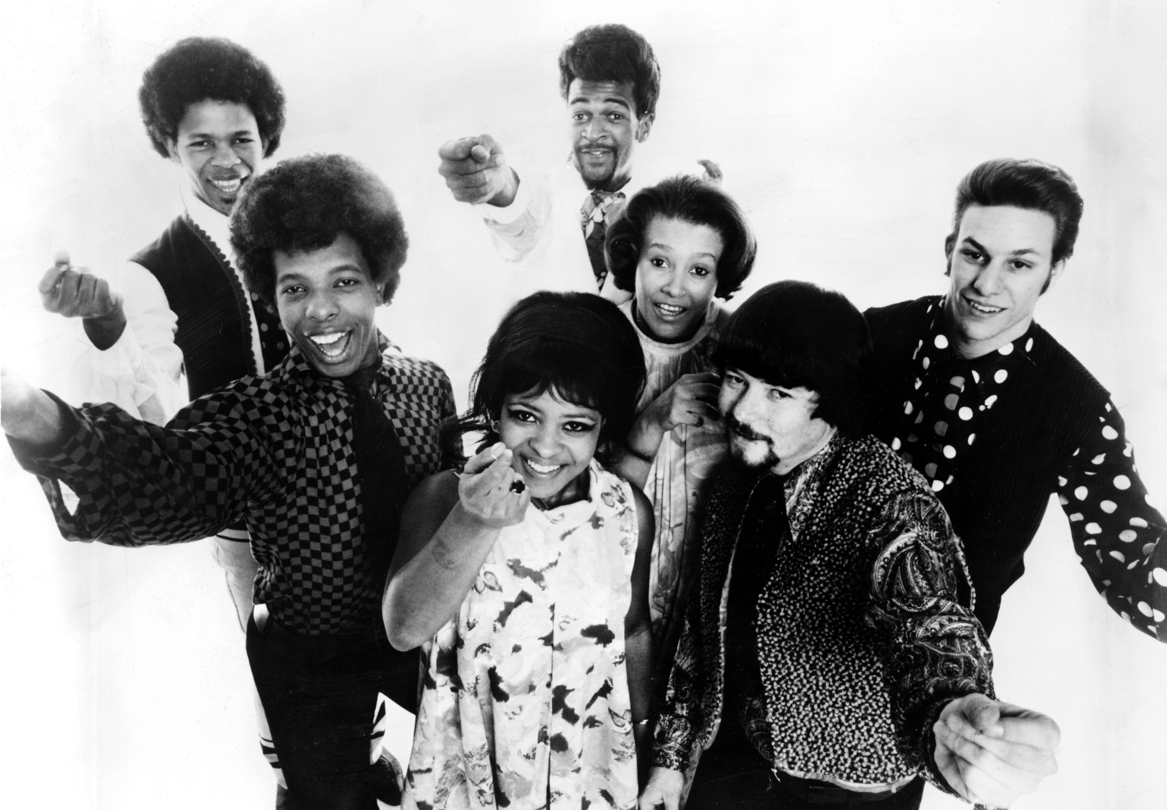 SLY AND THE FAMILY STONE, c. 1968. Keine Weitergabe an Drittverwerter.