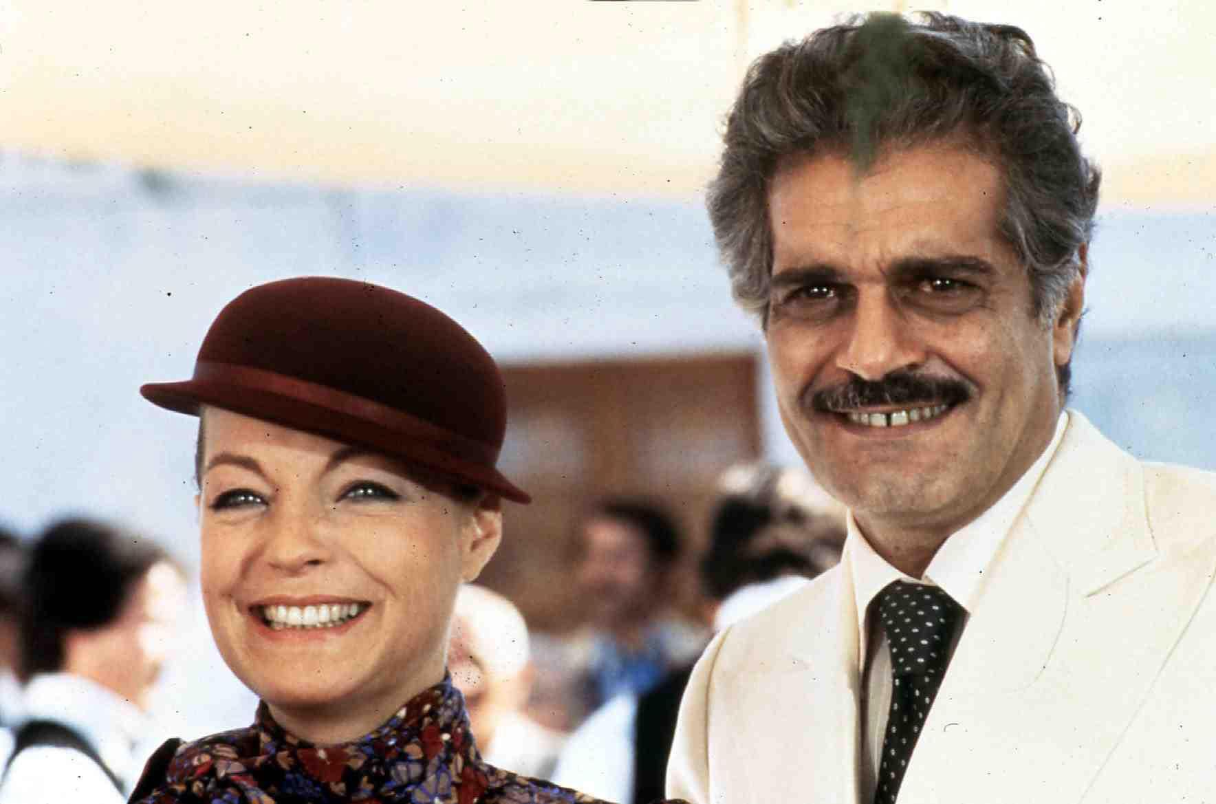 Sidney Sheldon's Bloodline  (1978) Helene Martin (Romy Schneider), Ivo Palazzi (Omar Sharif) Regie: Terence Young ,