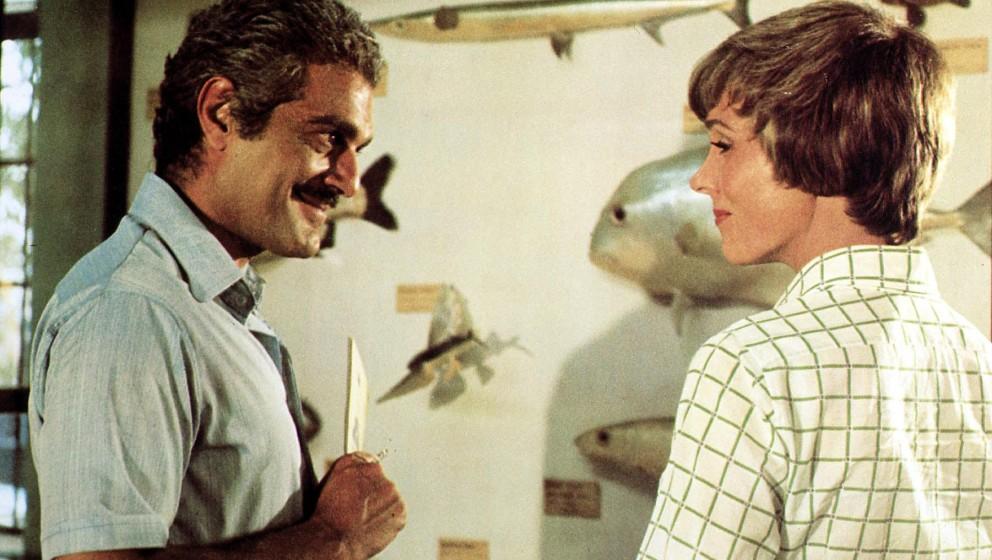 Tamarind Seed, The  (1974) Omar Sharif, Julie Andrews Die Geheimdienste beider Laender sind ueber die Verbindung von Judith (