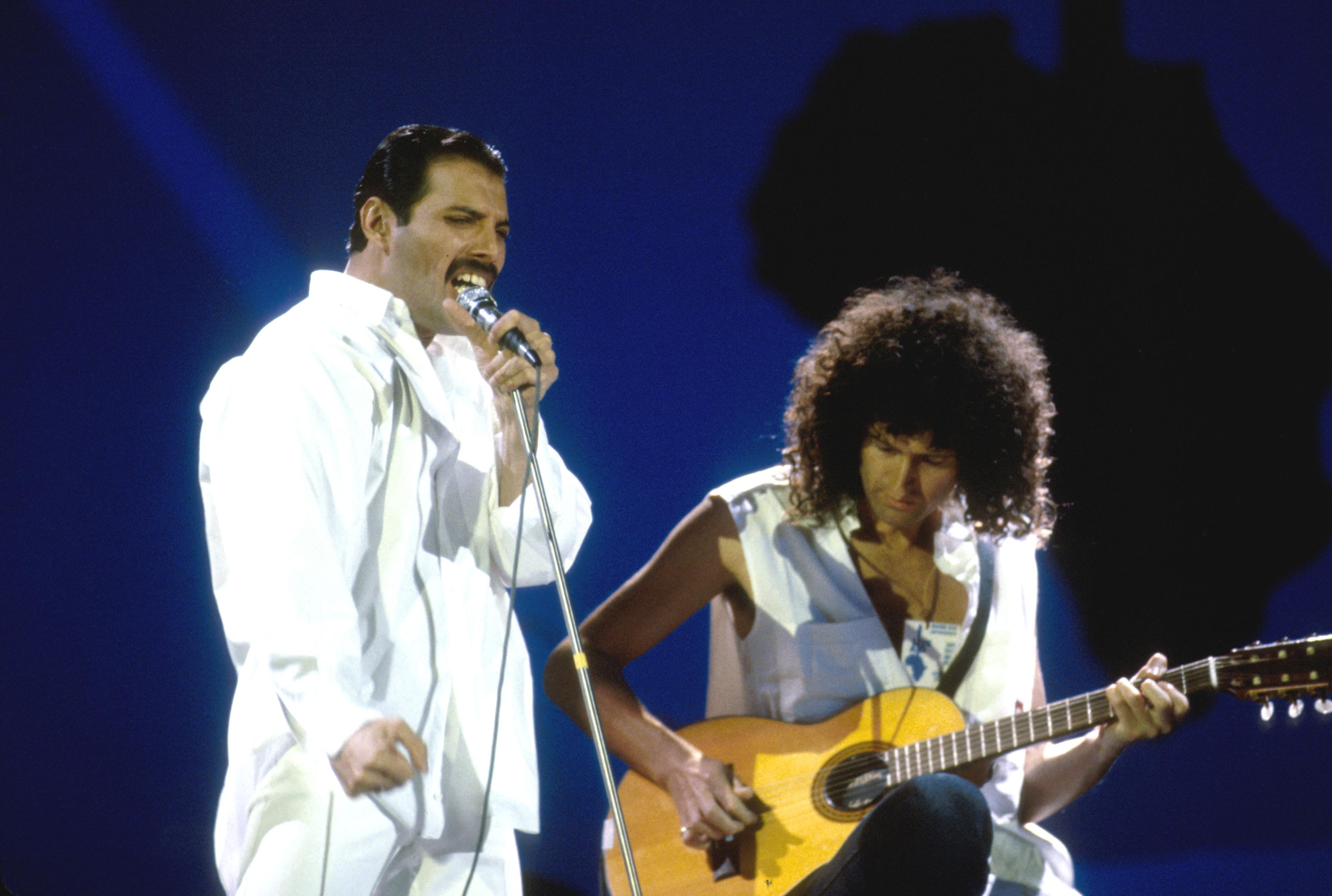Queen lieferten nach Meinung vieler einen der besten Auftritte bei Live Aid