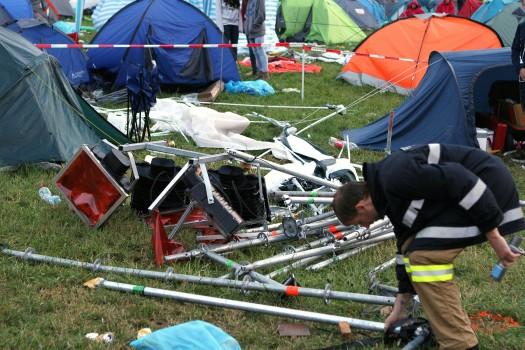 Das Unglück geschah auf dem Campingplatz