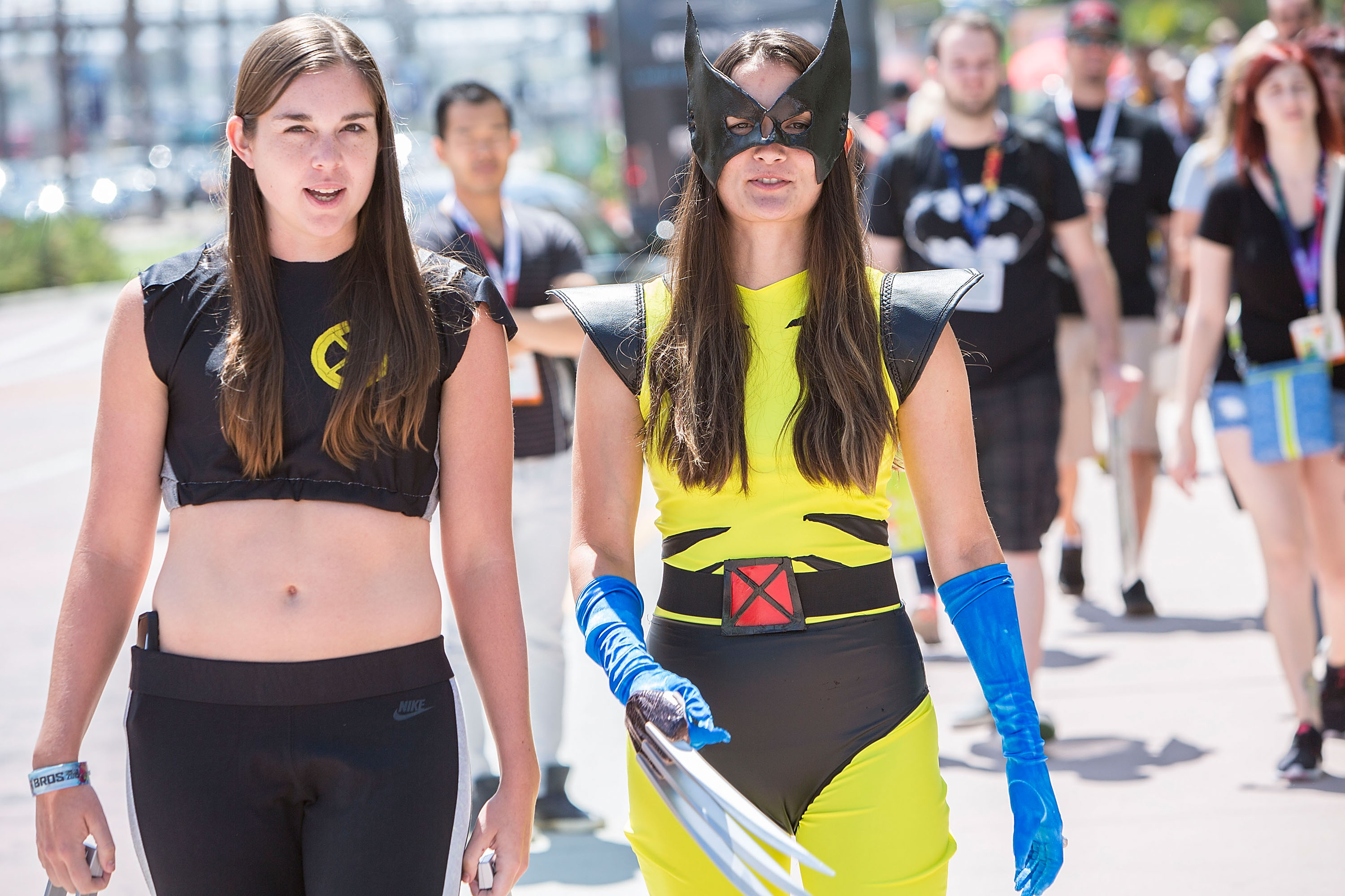 SAN DIEGO, CA - JULY 10:  Costumed fans attend Comic-Con International at San Diego Convention Center on July 10, 2015 in San